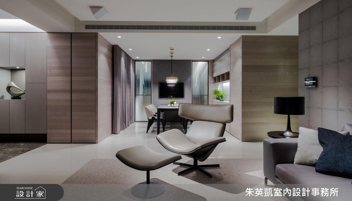 45坪新成屋(5年以下)_現代風客廳案例圖片_朱英凱室內設計事務所_朱英凱_28之4