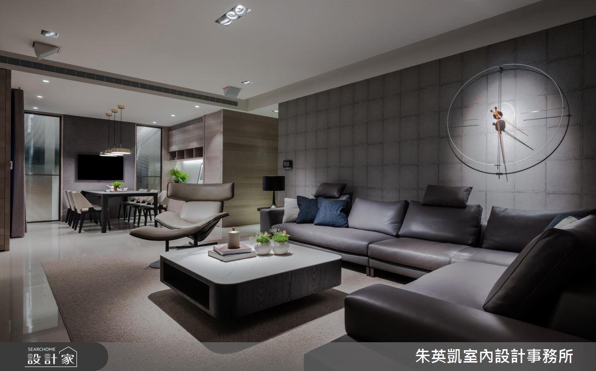 45坪新成屋(5年以下)_現代風客廳案例圖片_朱英凱室內設計事務所_朱英凱_28之2