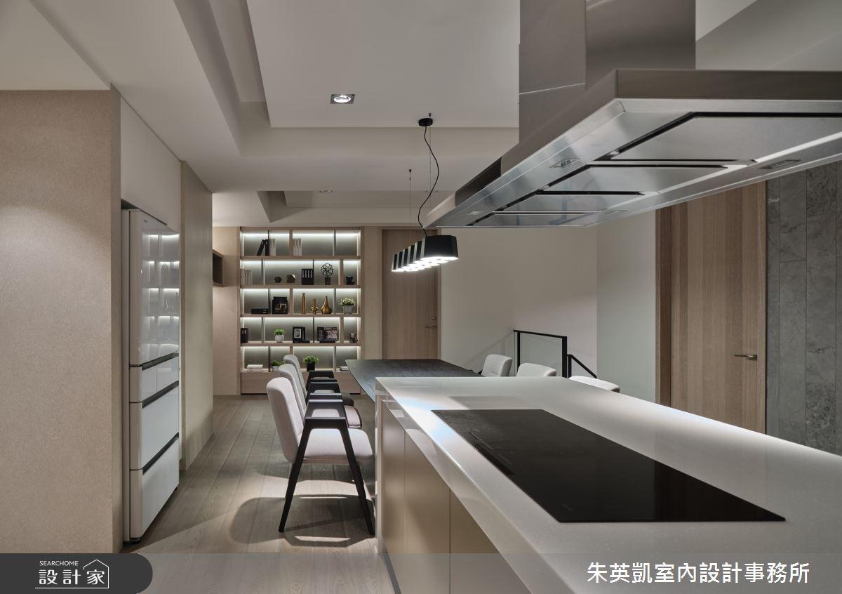 70坪新成屋(5年以下)_現代風中島案例圖片_朱英凱室內設計事務所_朱英凱_31之17