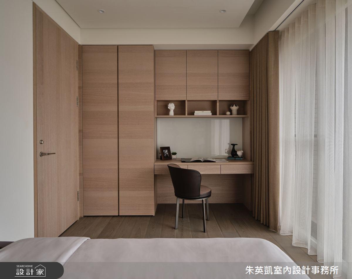70坪新成屋(5年以下)_現代風臥室案例圖片_朱英凱室內設計事務所_朱英凱_31之26