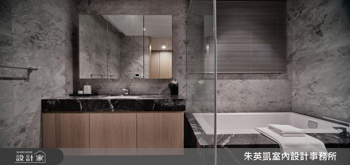 70坪新成屋(5年以下)_現代風浴室案例圖片_朱英凱室內設計事務所_朱英凱_31之27
