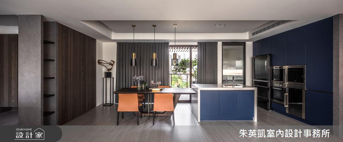 45坪新成屋(5年以下)_現代風餐廳案例圖片_朱英凱室內設計事務所_朱英凱_33之13
