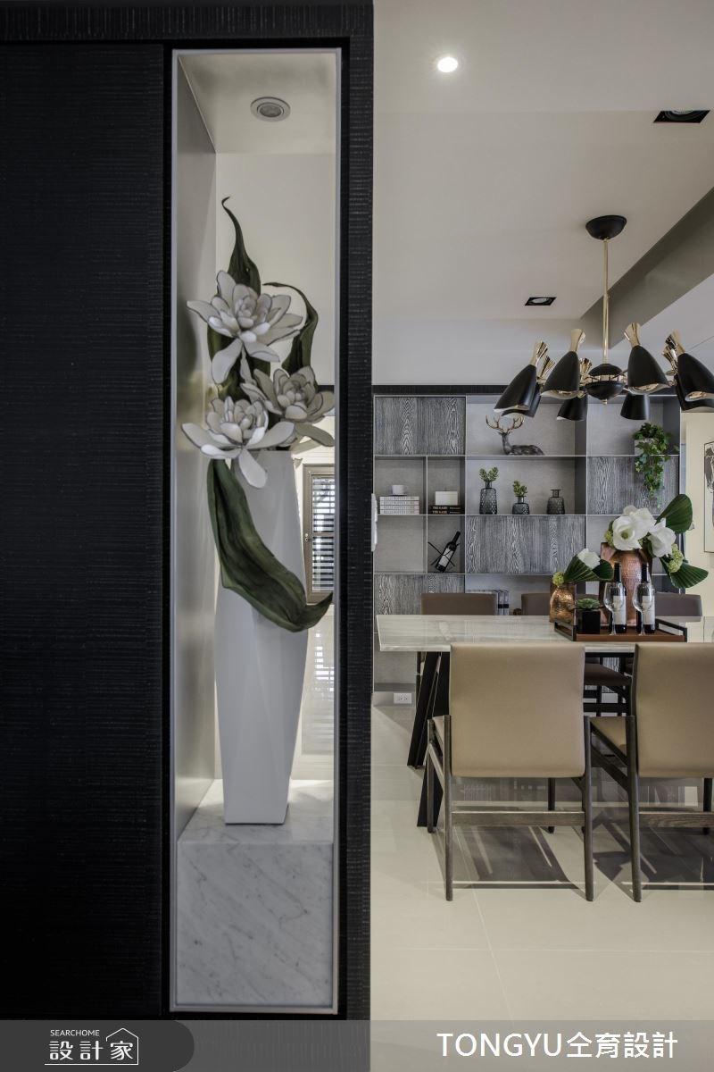 70坪新成屋(5年以下)_現代風餐廳案例圖片_仝育室內裝修設計有限公司_仝育_09之2