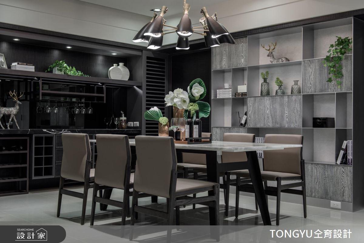 70坪新成屋(5年以下)_現代風餐廳案例圖片_仝育室內裝修設計有限公司_仝育_09之3
