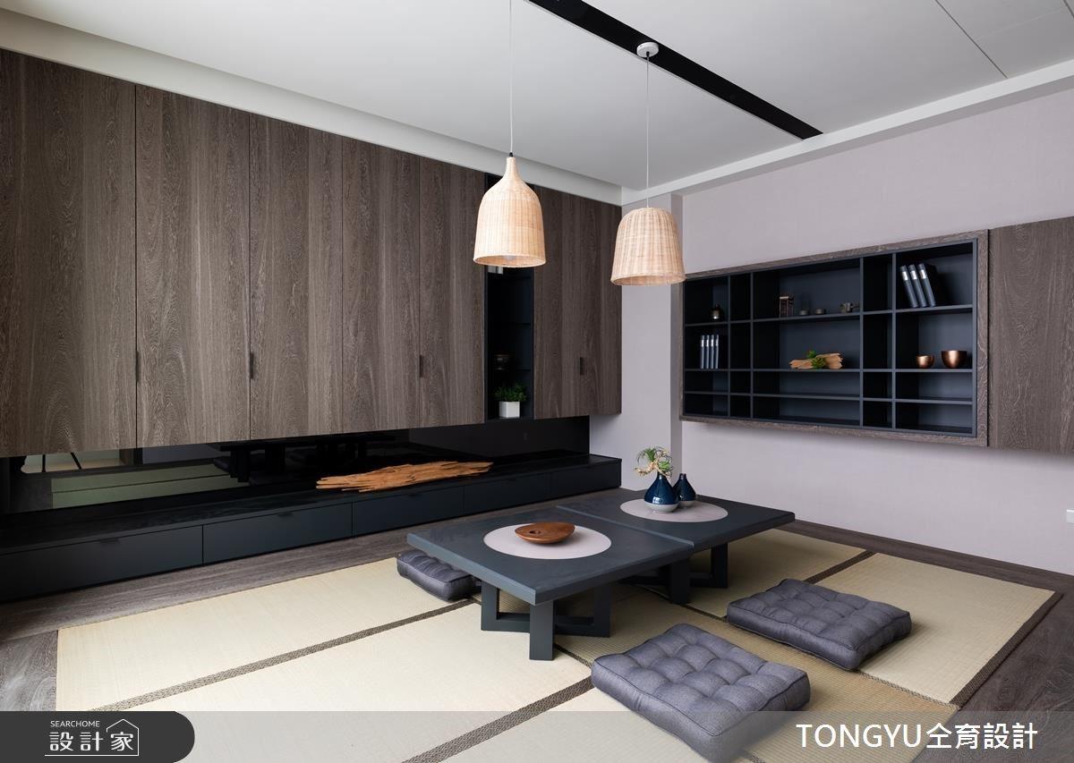 145坪新成屋(5年以下)_休閒風和室案例圖片_仝育室內裝修設計有限公司_仝育_14之6