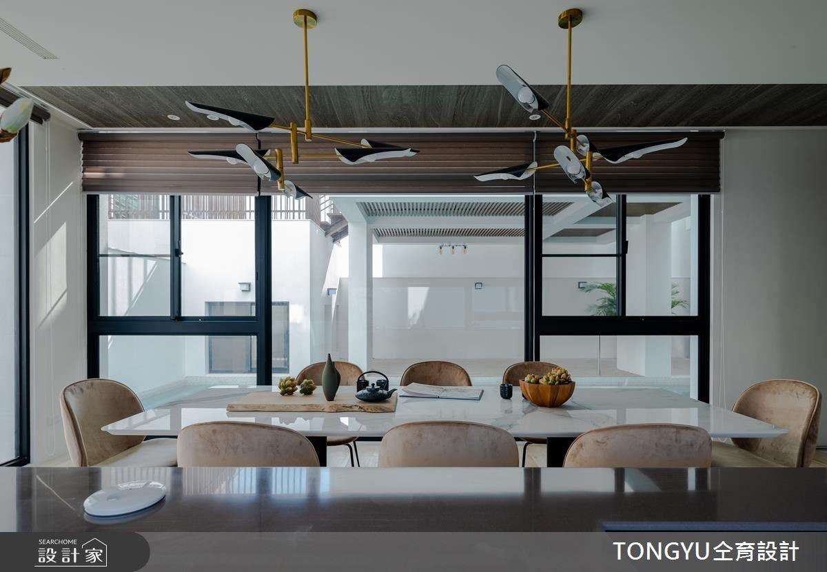145坪新成屋(5年以下)_休閒風餐廳案例圖片_仝育室內裝修設計有限公司_仝育_14之12