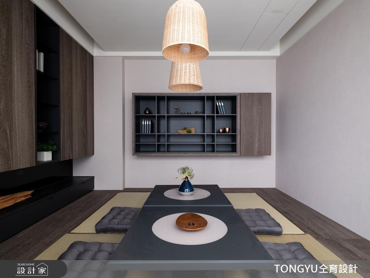 145坪新成屋(5年以下)_休閒風和室案例圖片_仝育室內裝修設計有限公司_仝育_14之7