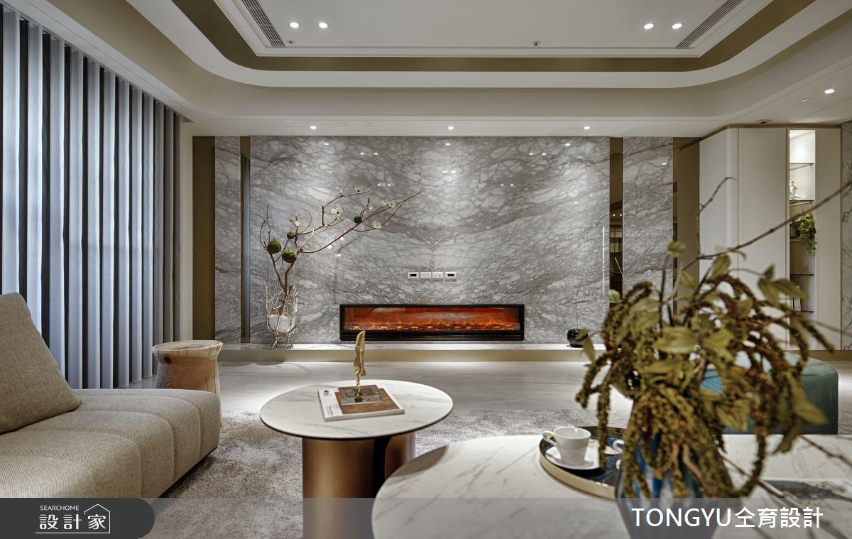 123坪新成屋(5年以下)_休閒風客廳案例圖片_仝育室內裝修設計有限公司_仝育_16之3