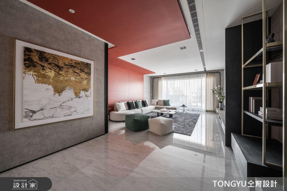 125坪預售屋_現代風客廳案例圖片_仝育室內裝修設計有限公司_仝育_26之2