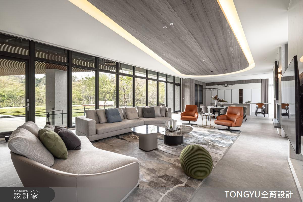 300坪新成屋(5年以下)_現代風案例圖片_仝育室內裝修設計有限公司_仝育_28之2