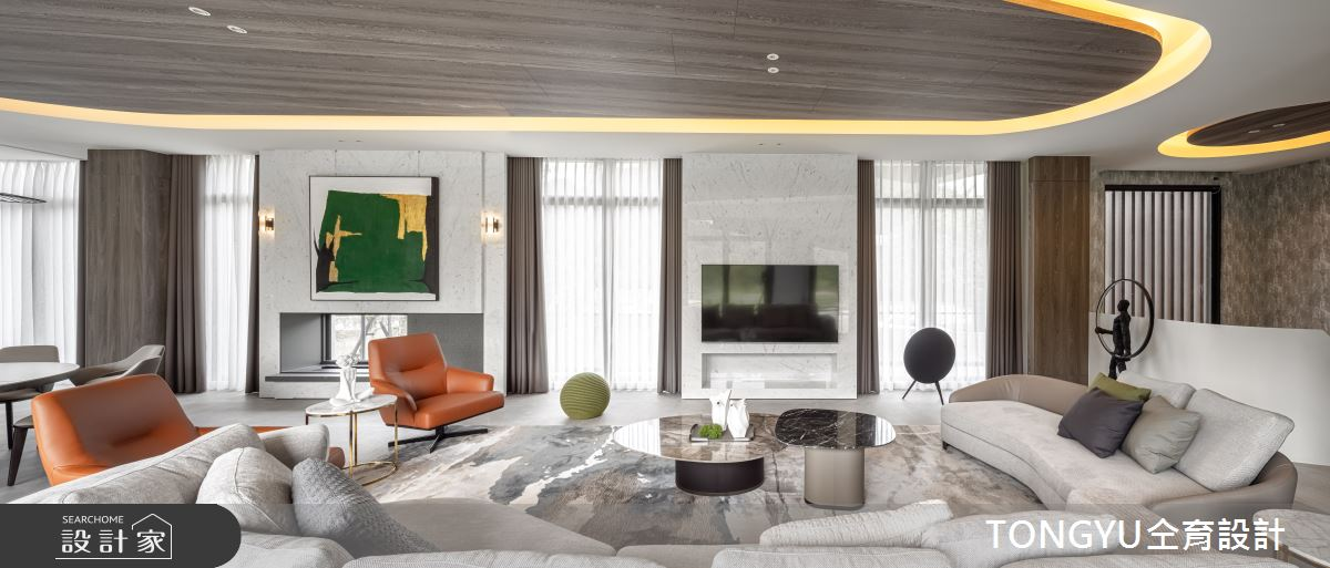 300坪新成屋(5年以下)_現代風案例圖片_仝育室內裝修設計有限公司_仝育_28之3
