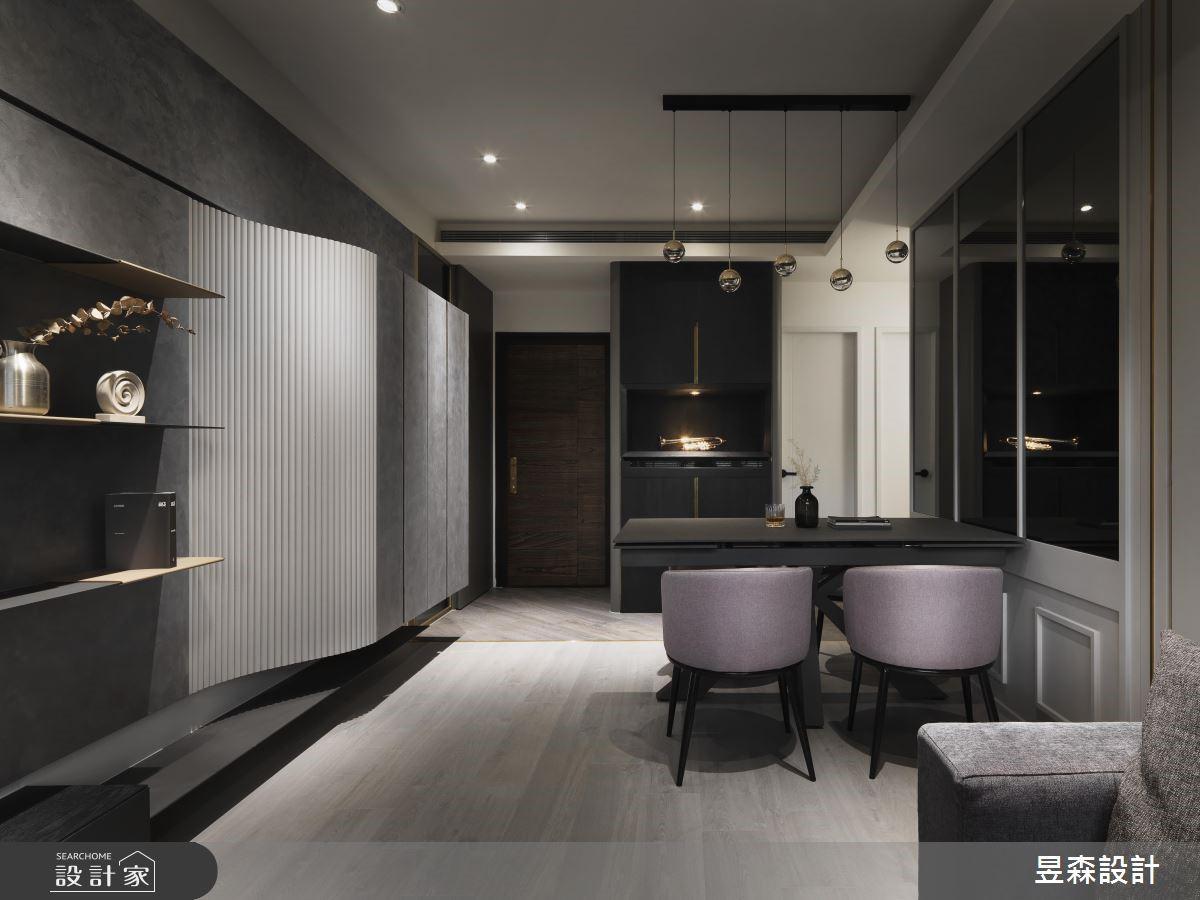 17坪新成屋(5年以下)_現代風餐廳案例圖片_昱森室內裝修有限公司_昱森_11之1