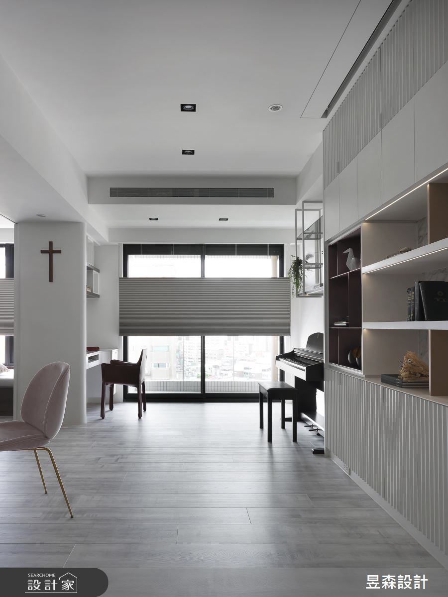 20坪新成屋(5年以下)_現代風書房案例圖片_昱森室內裝修有限公司_昱森_14之3