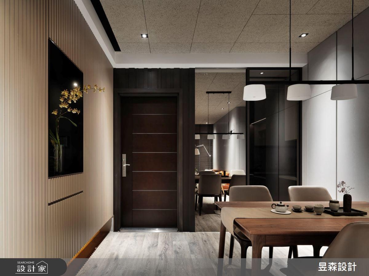 23坪新成屋(5年以下)_混搭風餐廳案例圖片_昱森室內裝修有限公司_昱森_16之10