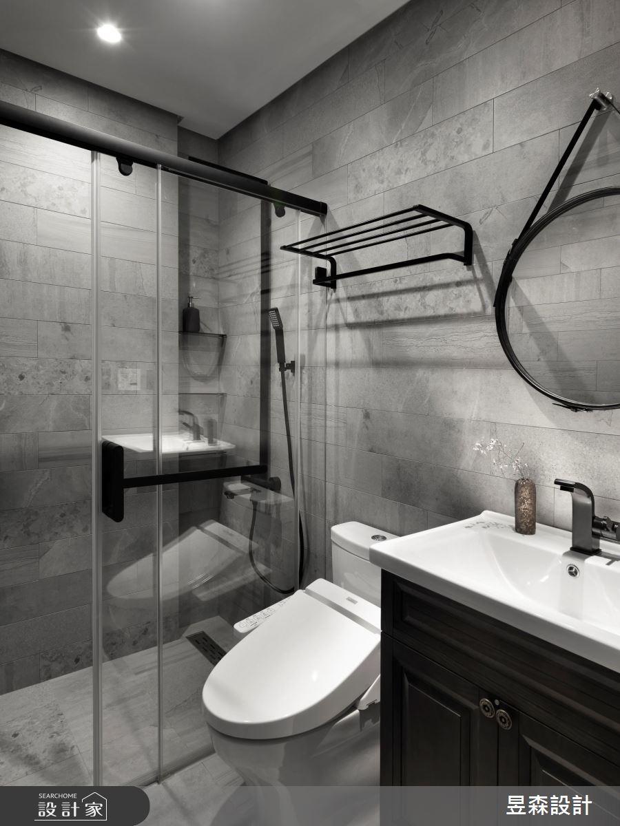 23坪新成屋(5年以下)_混搭風浴室案例圖片_昱森室內裝修有限公司_昱森_16之16