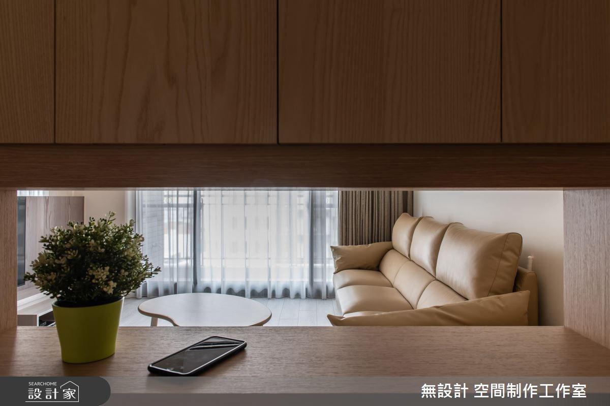 30坪新成屋(5年以下)_混搭風客廳案例圖片_無設計 空間制作工作室_無設計_08之2