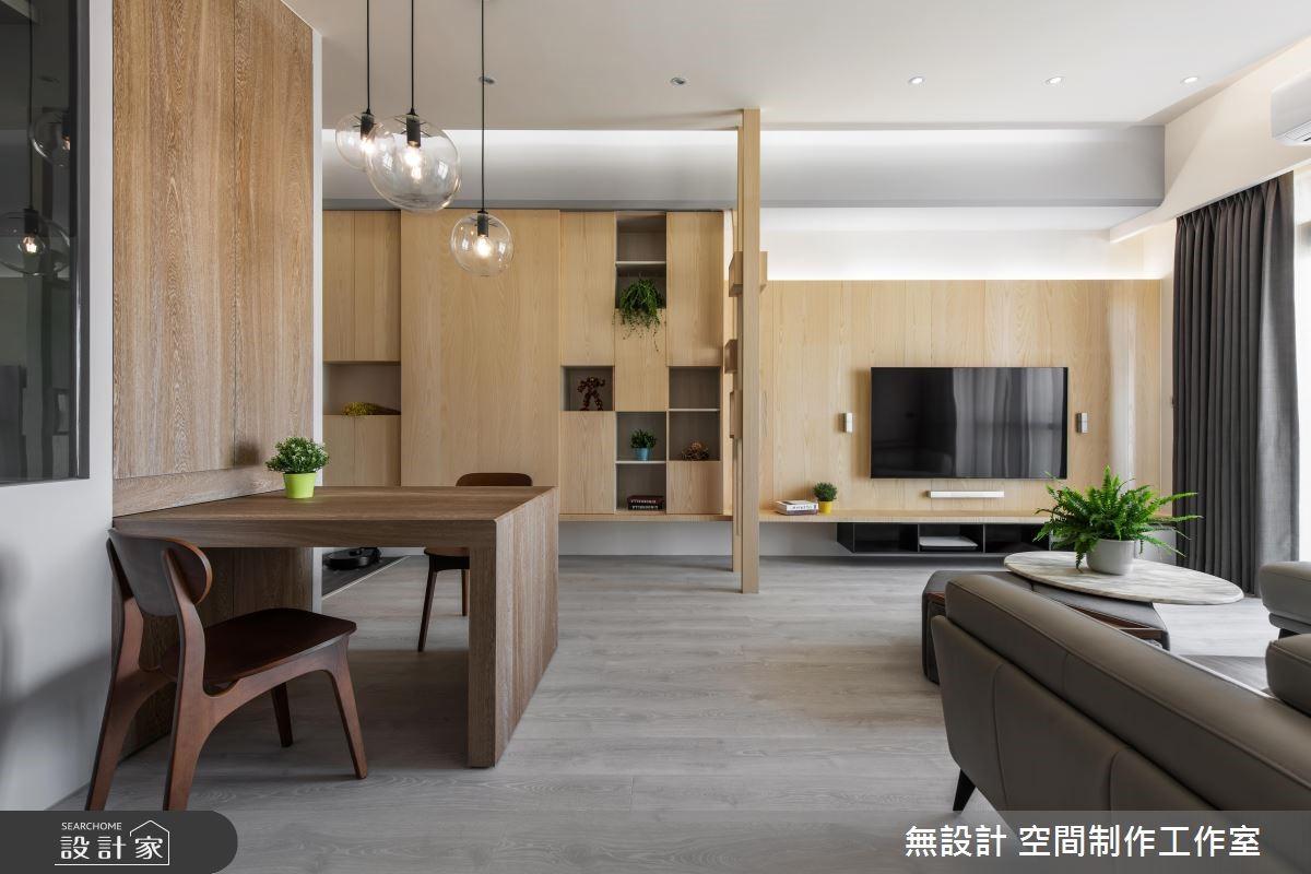 20坪新成屋(5年以下)_混搭風餐廳案例圖片_無設計 空間制作工作室_無設計_10之4