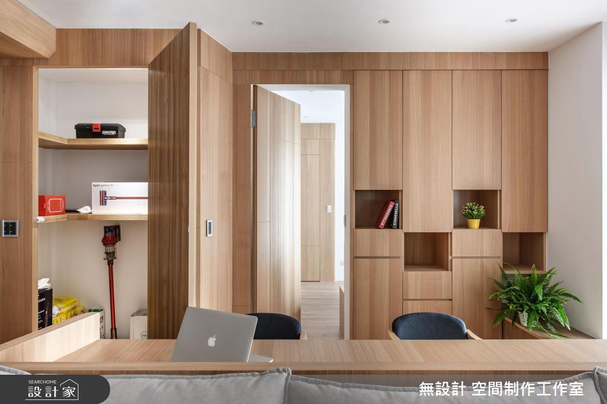 35坪新成屋(5年以下)_混搭風臥榻工作區案例圖片_無設計 空間制作工作室_無設計_12之10