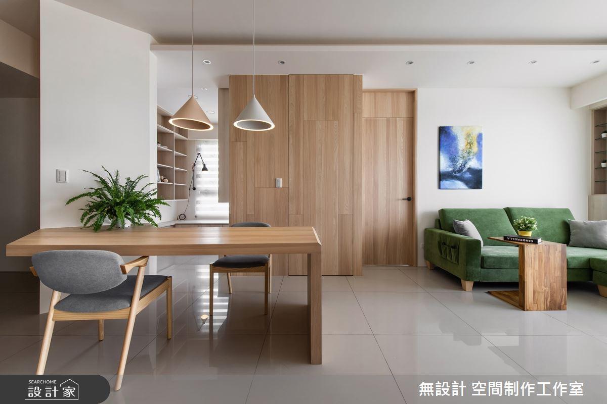 17坪新成屋(5年以下)_混搭風案例圖片_無設計 空間制作工作室_無設計_13之3