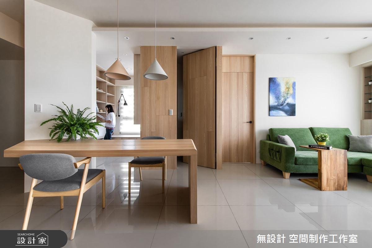 17坪新成屋(5年以下)_混搭風案例圖片_無設計 空間制作工作室_無設計_13之4