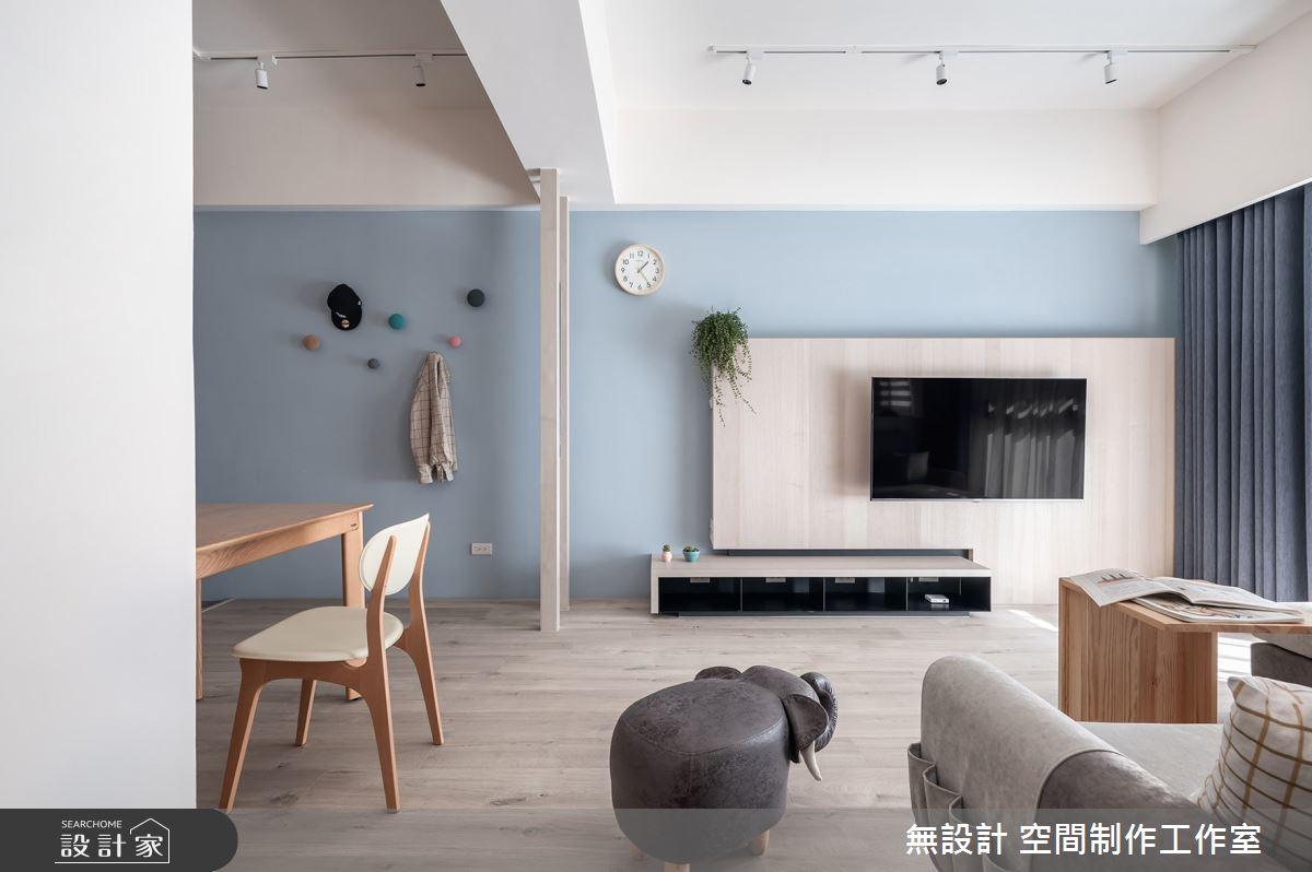20坪新成屋(5年以下)_混搭風客廳案例圖片_無設計 空間制作工作室_無設計_15之3