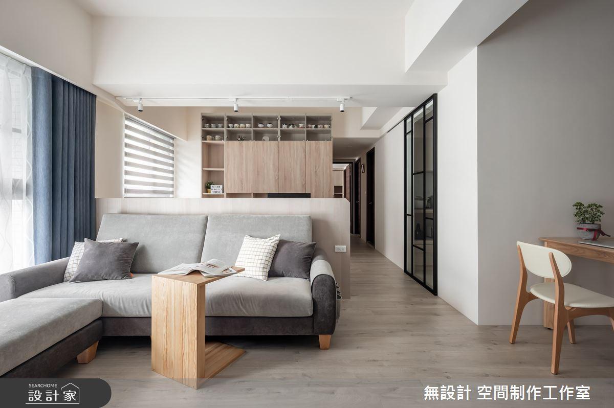 20坪新成屋(5年以下)_混搭風客廳案例圖片_無設計 空間制作工作室_無設計_15之7