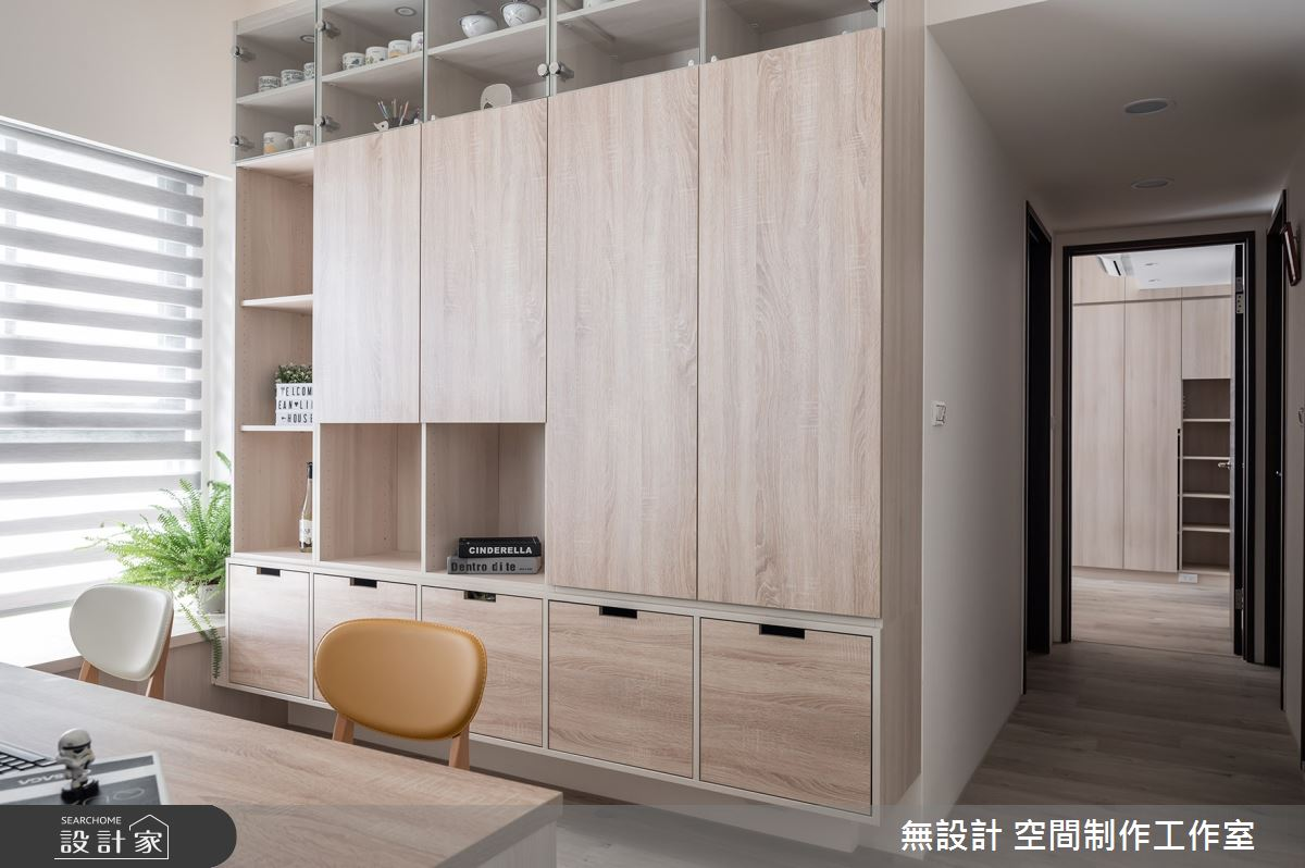 20坪新成屋(5年以下)_混搭風書房案例圖片_無設計 空間制作工作室_無設計_15之8