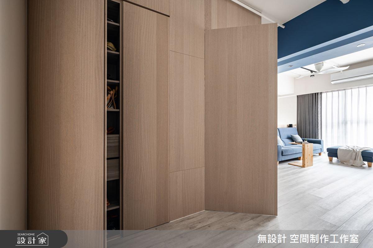 24坪預售屋_混搭風玄關案例圖片_無設計 空間制作工作室_無設計_19之3