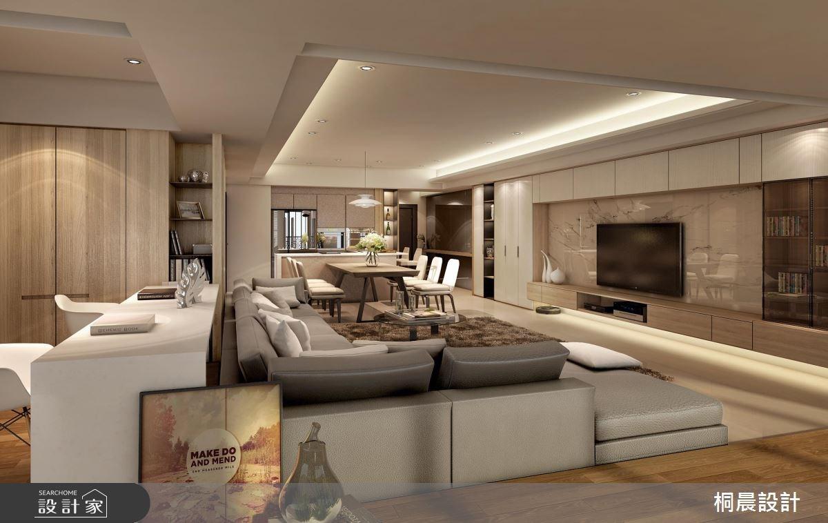 60坪新成屋(5年以下)_現代風案例圖片_桐晨設計/T.C Interior Design_桐晨_06之2