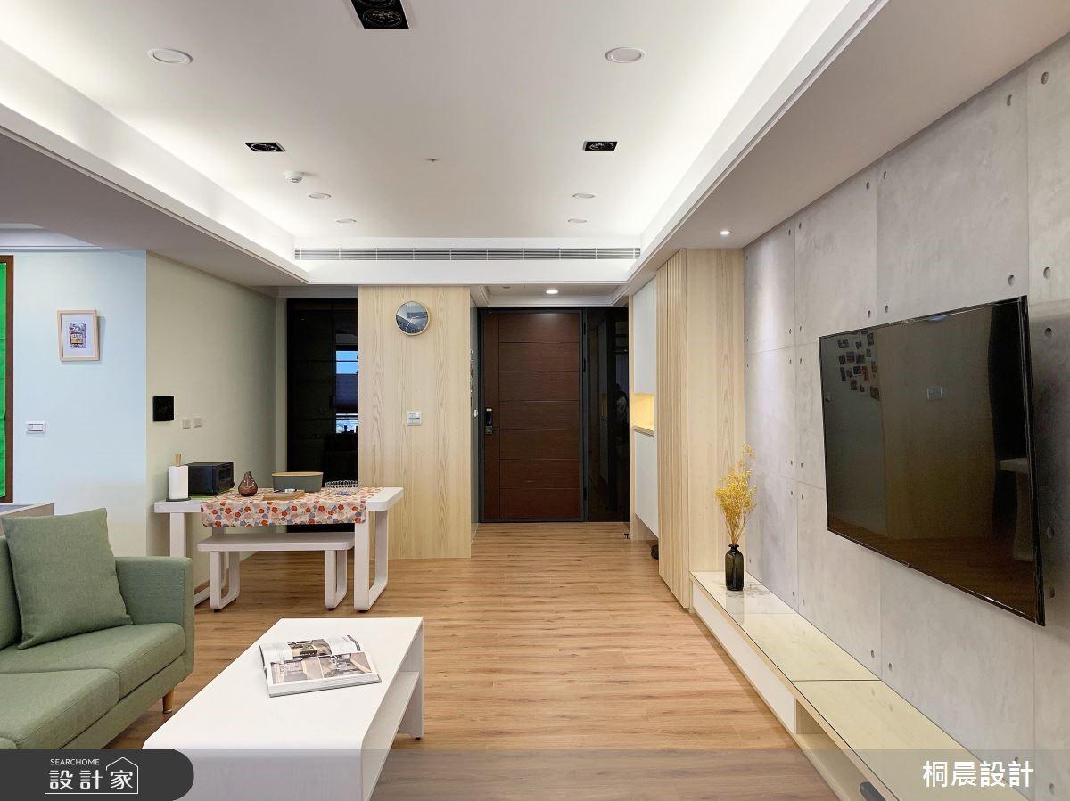 60坪新成屋(5年以下)_簡約風案例圖片_桐晨設計/T.C Interior Design_桐晨_17之4