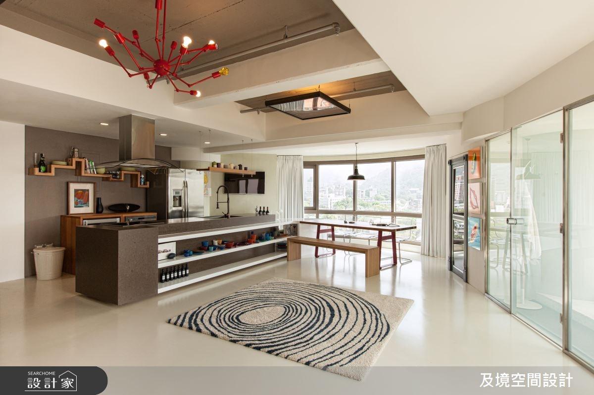 30坪中古屋(5~15年)_混搭風餐廳廚房案例圖片_及境空間設計有限公司_及境_04之4