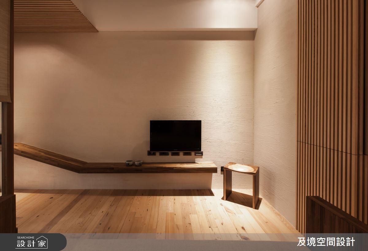 8坪新成屋(5年以下)_人文禪風客廳案例圖片_及境空間設計有限公司_及境_05之2