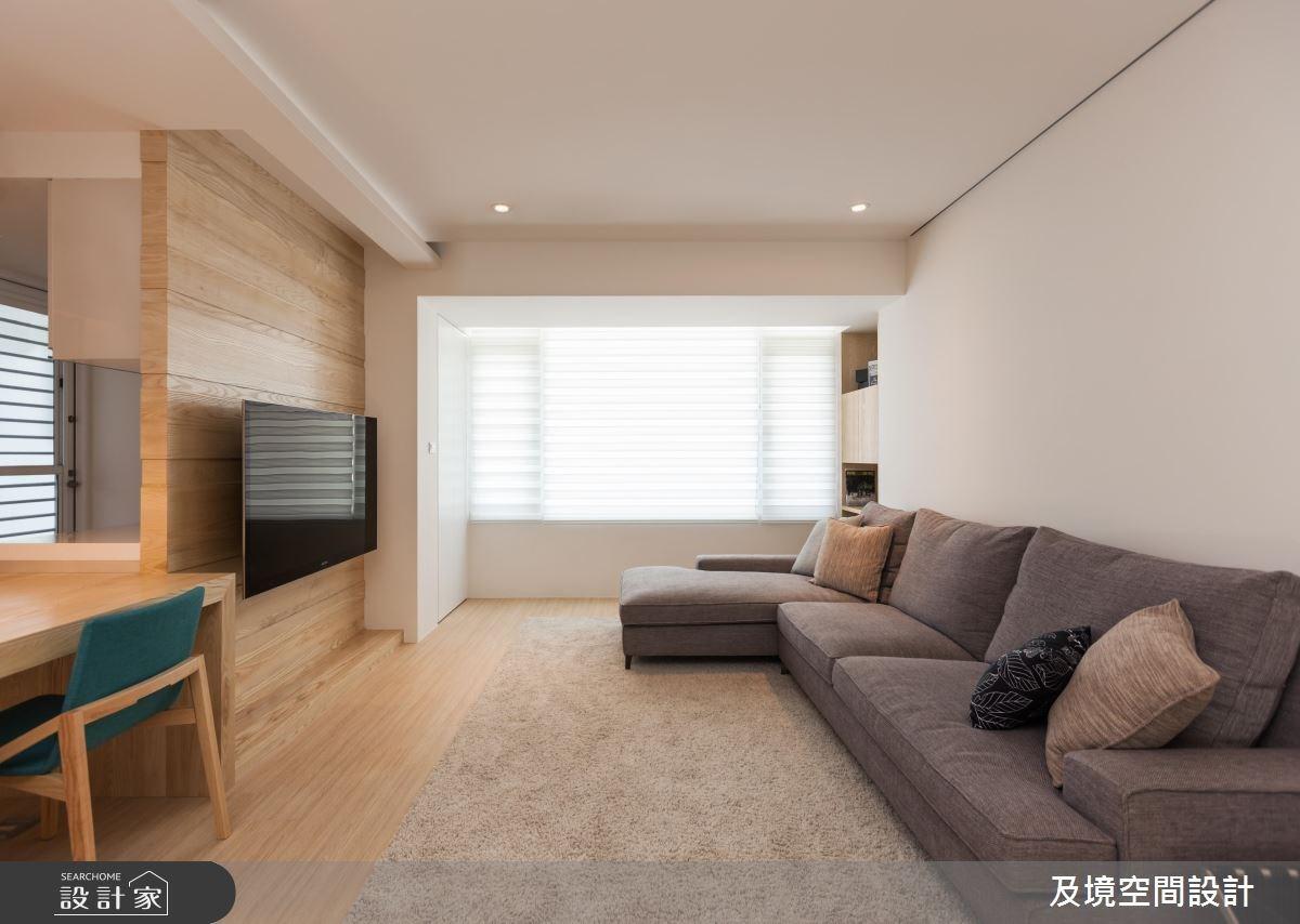 30坪老屋(16~30年)_日式無印風客廳案例圖片_及境空間設計有限公司_及境_06之2