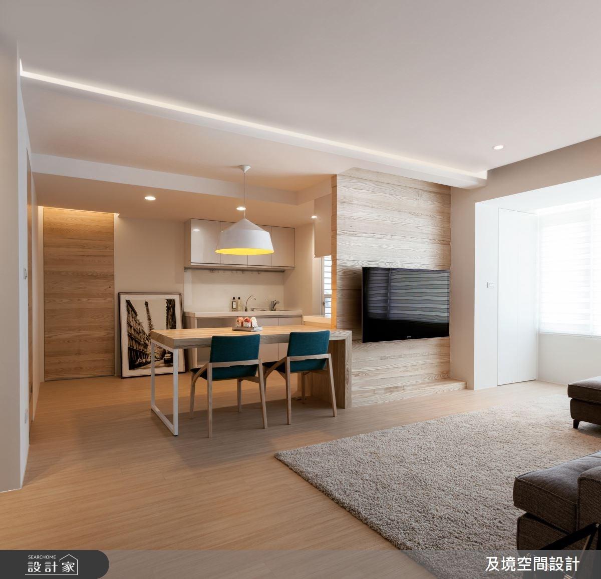 30坪老屋(16~30年)_日式無印風餐廳廚房案例圖片_及境空間設計有限公司_及境_06之4