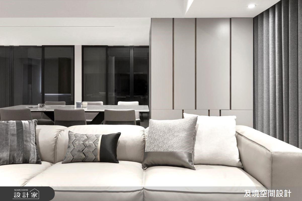 40坪老屋(16~30年)_現代風客廳案例圖片_及境空間設計有限公司_及境_09之4