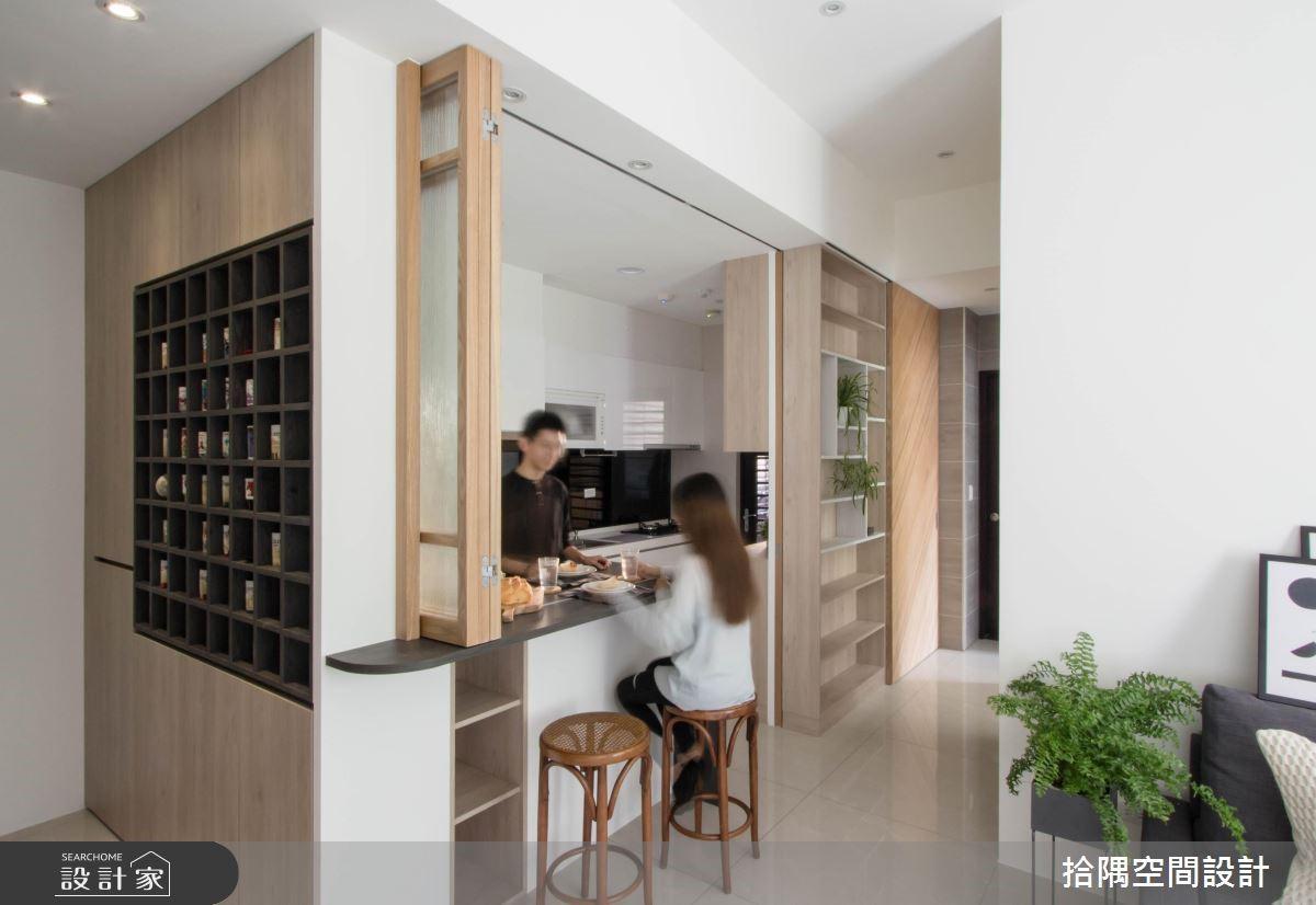 14坪新成屋(5年以下)_簡約風餐廳案例圖片_拾隅空間設計_拾隅_18之3