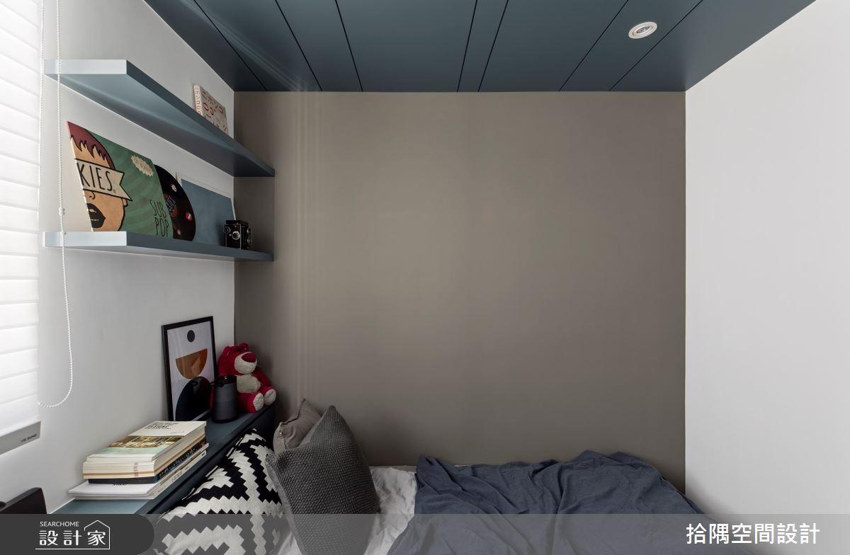 18坪新成屋(5年以下)_混搭風臥室案例圖片_拾隅空間設計_拾隅_26之10