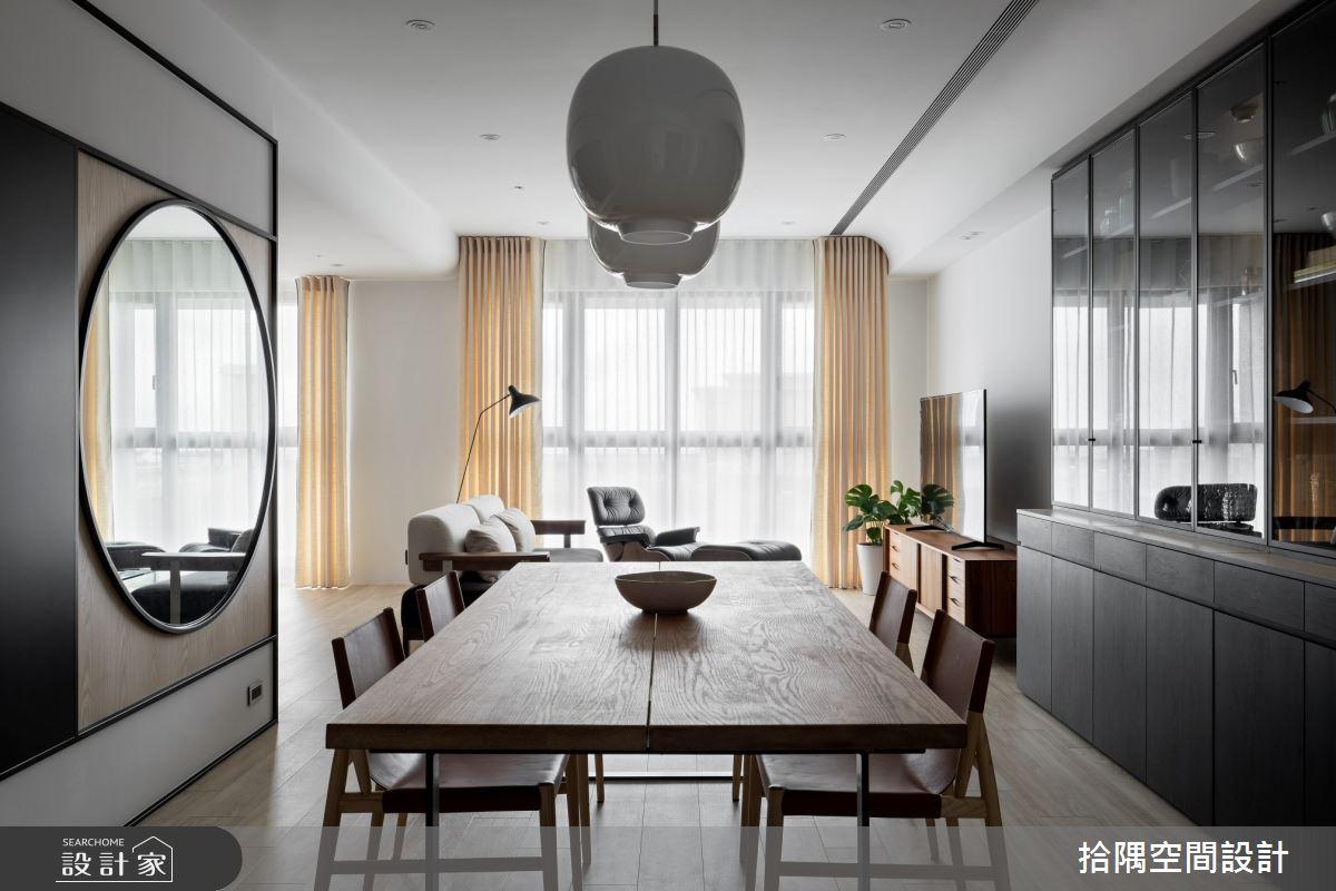 21坪新成屋(5年以下)_混搭風餐廳案例圖片_拾隅空間設計_拾隅_33之3