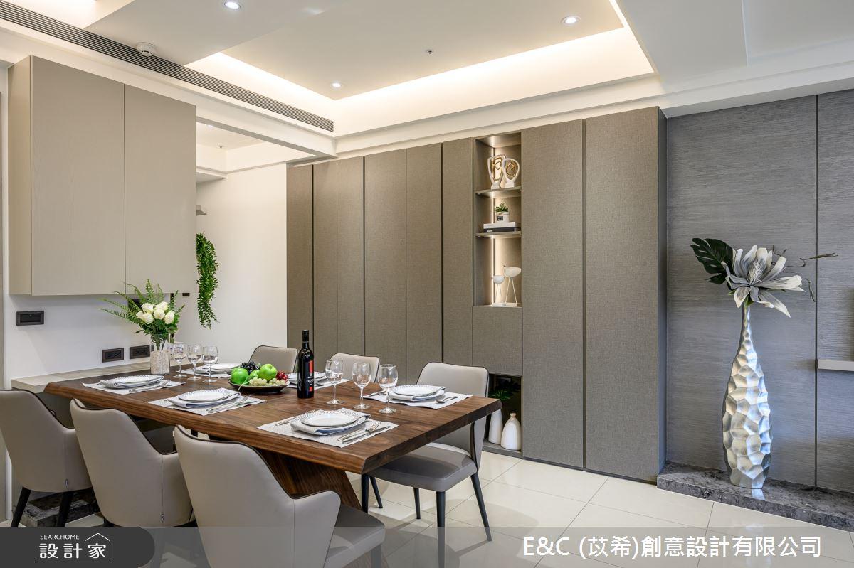 37坪新成屋(5年以下)_現代風餐廳案例圖片_苡希創意設計有限公司_苡希_07之4