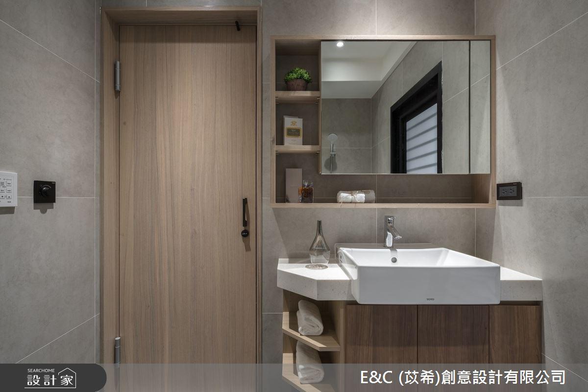 14坪預售屋_現代風浴室案例圖片_苡希創意設計有限公司_苡希_10之18