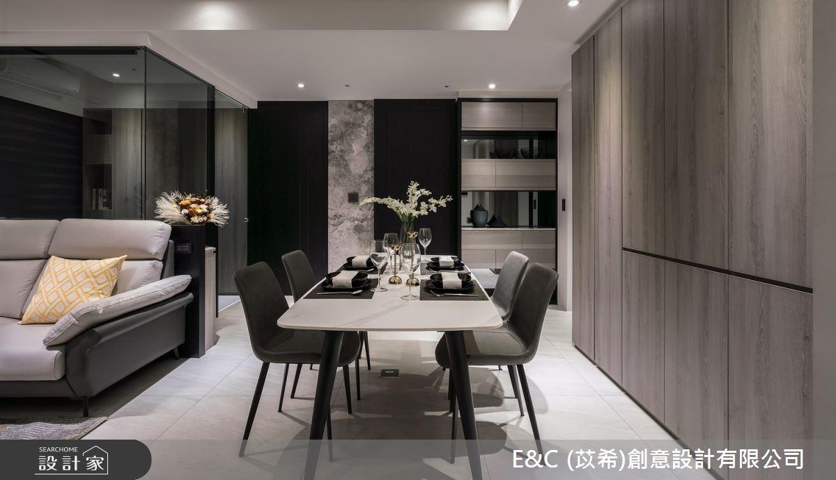 22坪新成屋(5年以下)_現代風餐廳案例圖片_苡希創意設計有限公司_苡希_13之3