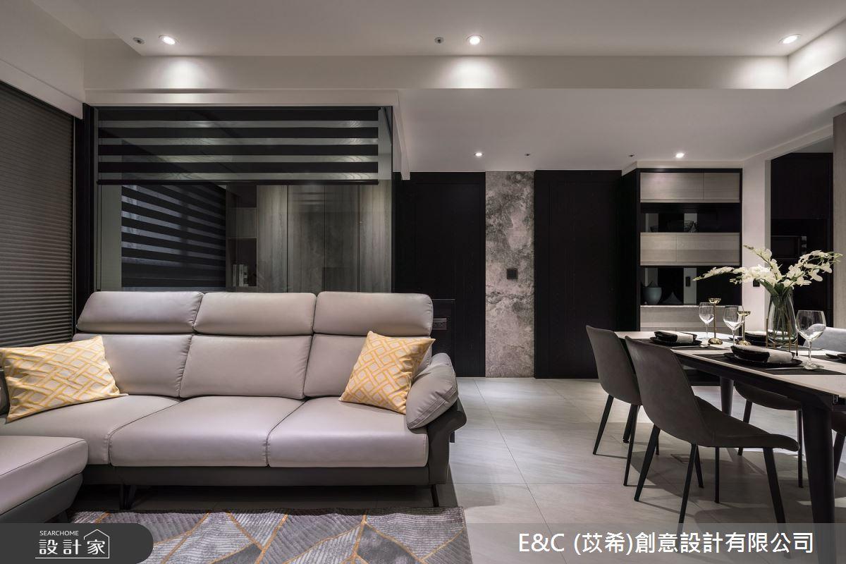 22坪新成屋(5年以下)_現代風客廳案例圖片_苡希創意設計有限公司_苡希_13之4