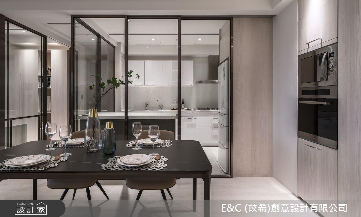 35坪新成屋(5年以下)_飯店風餐廳案例圖片_苡希創意設計有限公司_苡希_14之5
