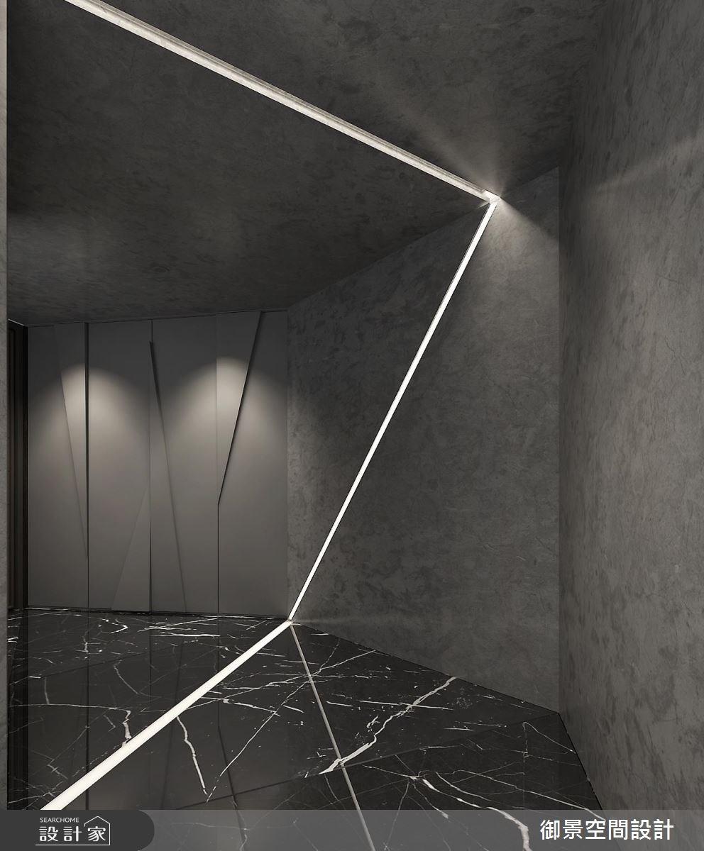 50坪新成屋(5年以下)_現代風玄關案例圖片_Palladio 御景設計_御景_03之1