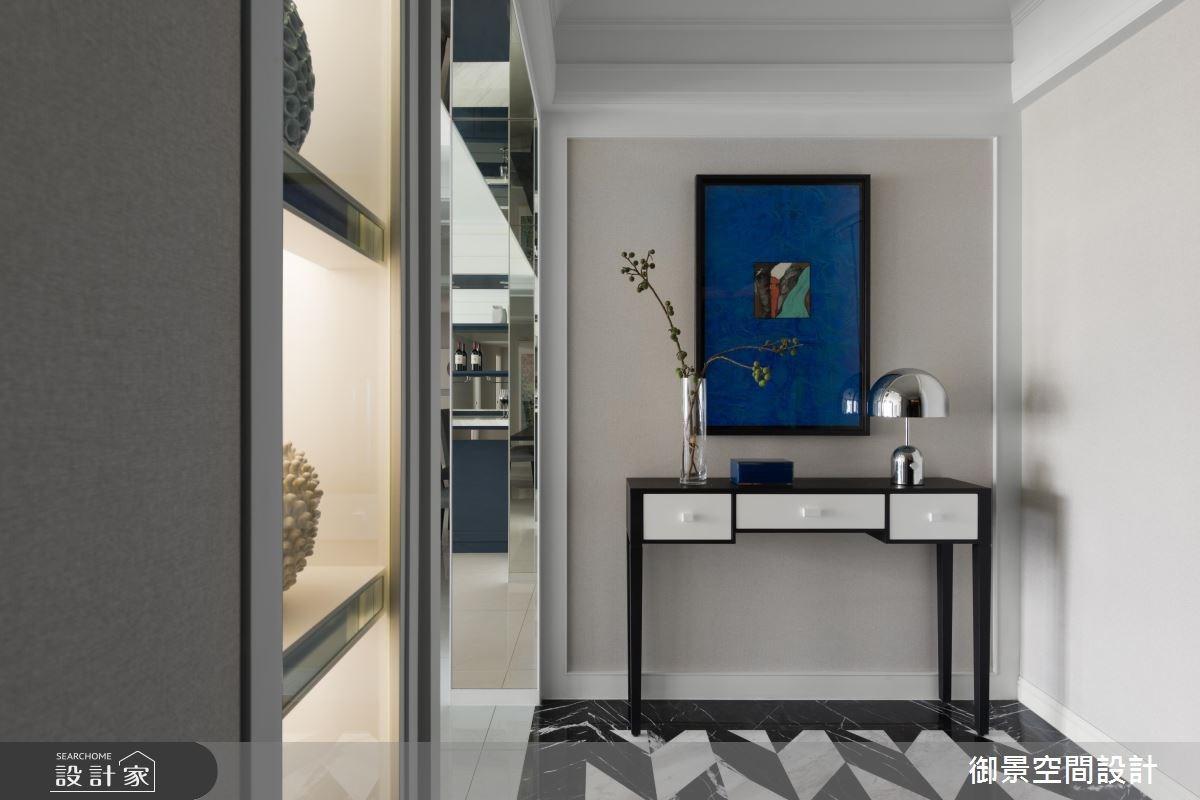 55坪新成屋(5年以下)_混搭風玄關案例圖片_Palladio 御景設計_御景_05之2