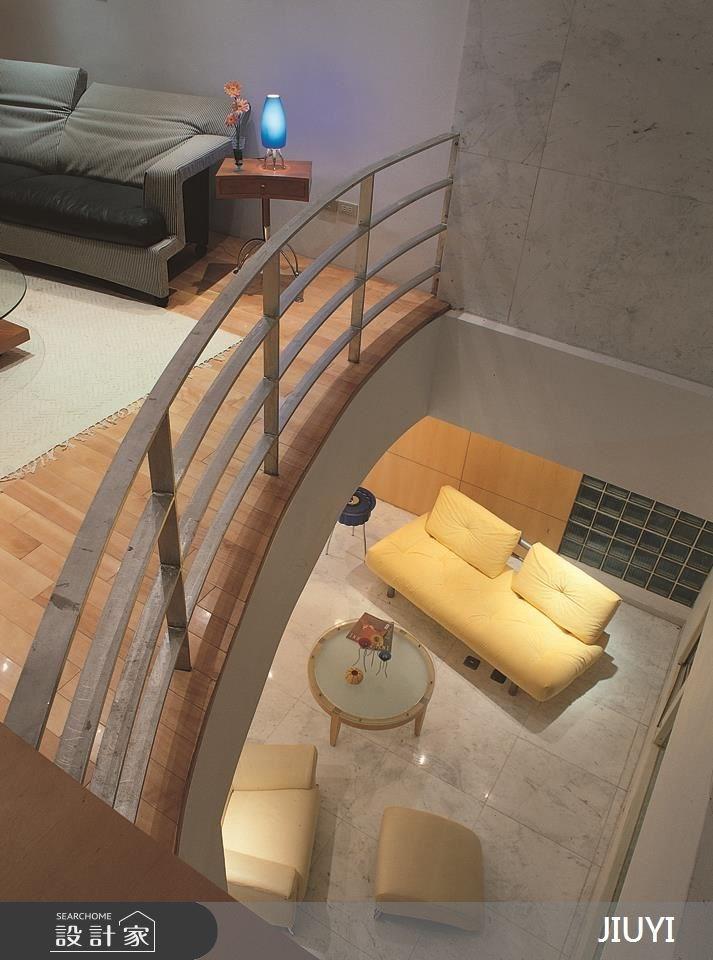 90坪新成屋(5年以下)_混搭風客廳案例圖片_俱意設計_俱意_04之3