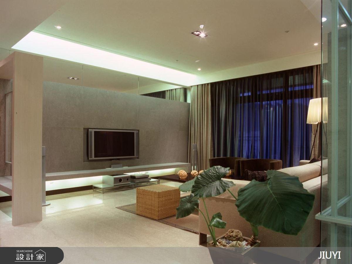 45坪老屋(16~30年)_現代風客廳案例圖片_俱意設計_俱意_05之2
