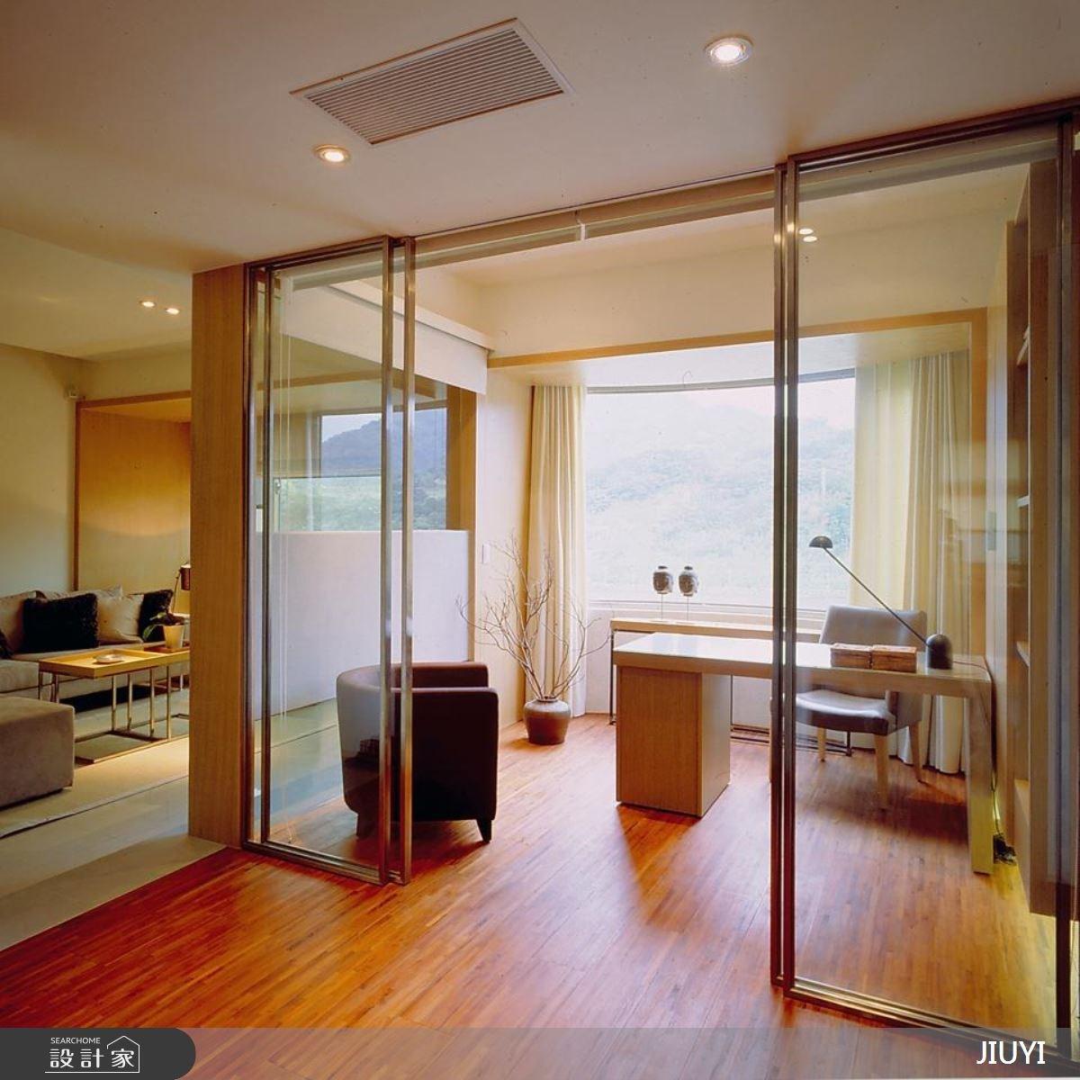 30坪新成屋(5年以下)_現代風客廳書房案例圖片_俱意設計_俱意_10之4