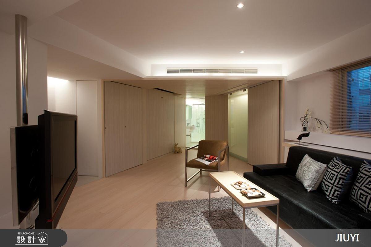 10坪中古屋(5~15年)_現代風客廳浴室案例圖片_俱意設計_俱意_15之3