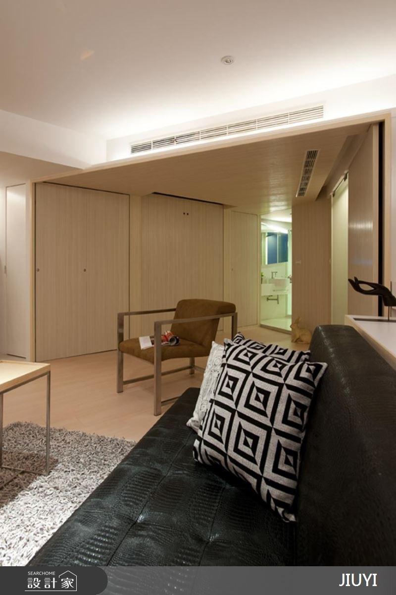 10坪中古屋(5~15年)_現代風客廳浴室案例圖片_俱意設計_俱意_15之4